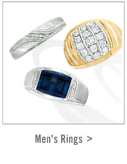 Shop Mens' Rings >