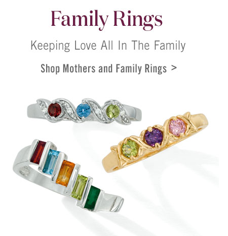 Shop Family Rings >