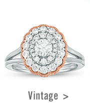 Shop Vintage-Inspired Rings >