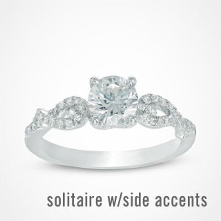 Shop Solitaire with Side Accents >