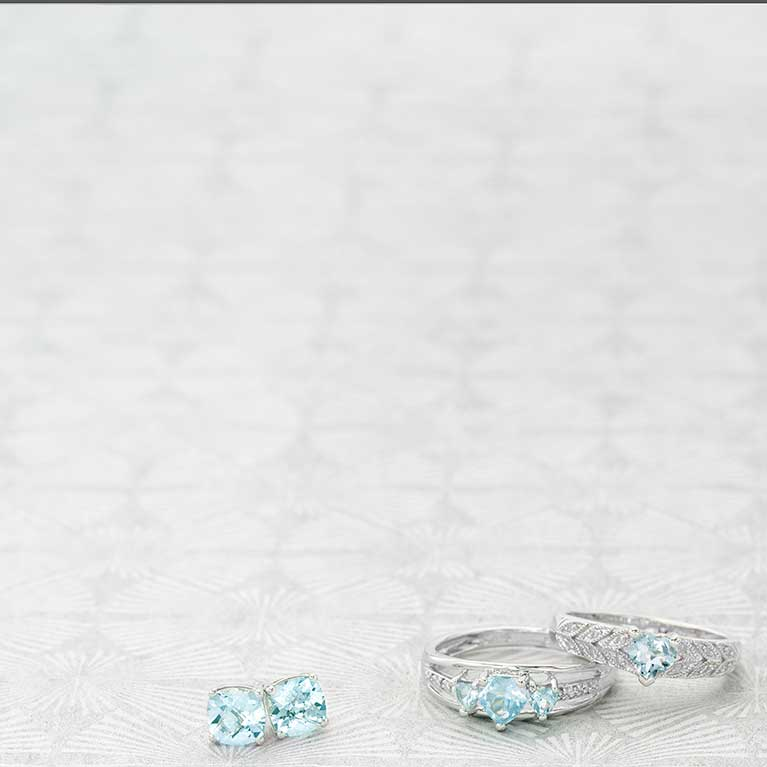 March Aquamarine Icy Blue Symbolizes Deep Friendship And Hiness