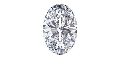 Diamond Shapes - Oval