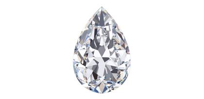 Diamond Shapes - Pear