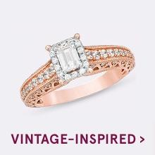 Shop Vintage-Inspired Rings >