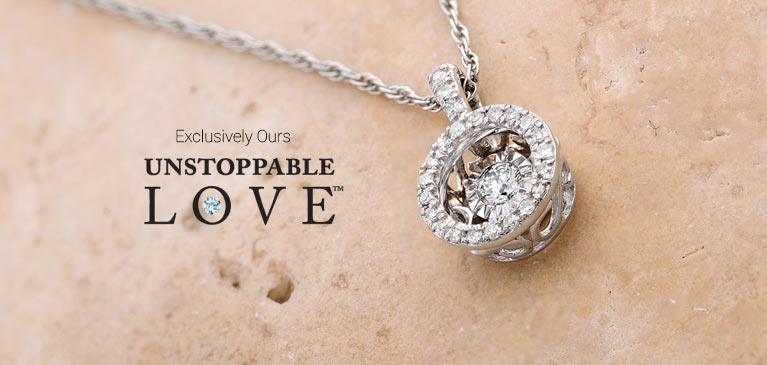 2df72038b96 Unstoppable Love | Collections | Peoples Jewellers