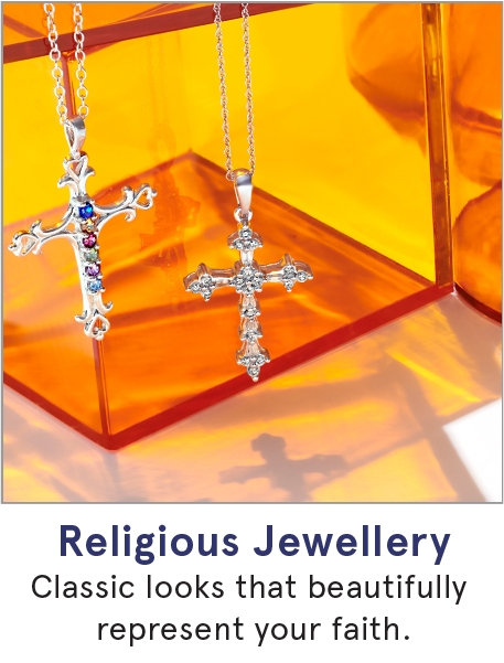 Religious Jewellery: Classic looks that beautifully represent your faith.