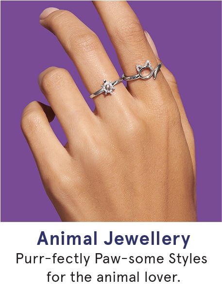 Animal Jewellery: Purr-fectly Paw-some styles for the animal lover.