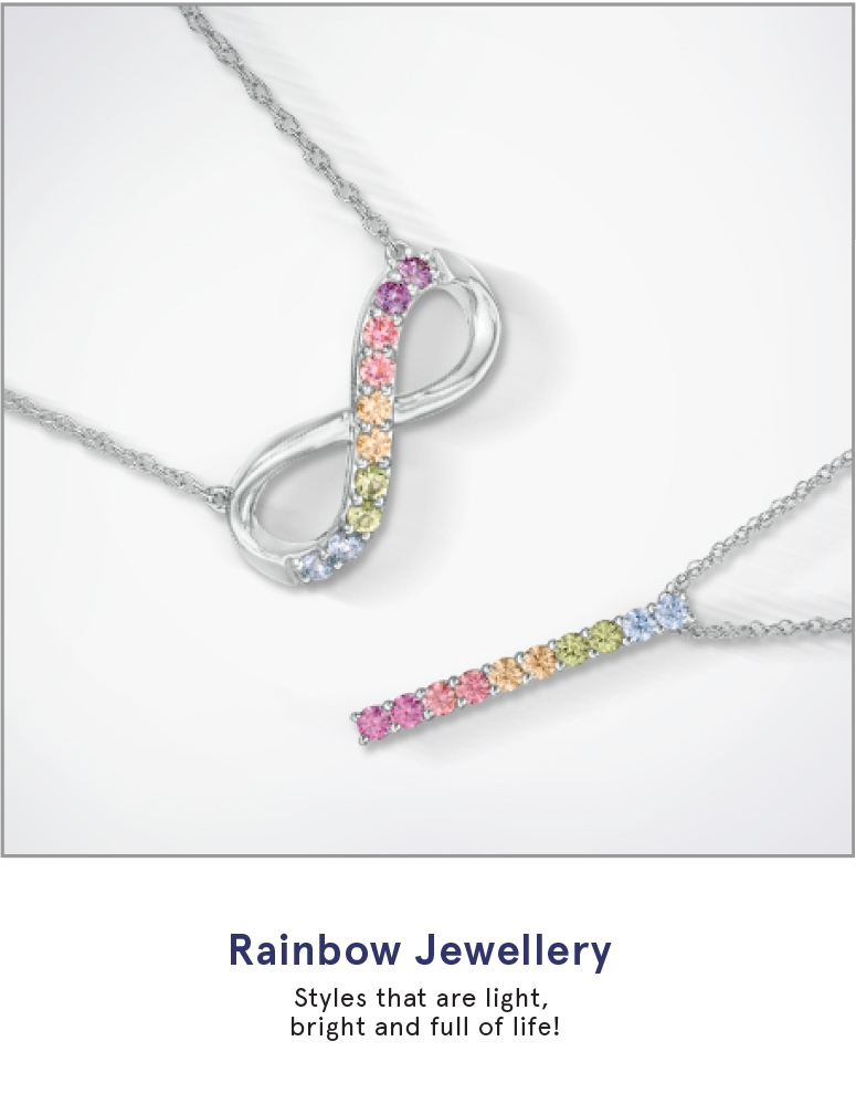 Rainbow Jewellery: Styles that are light, bright and full of life.
