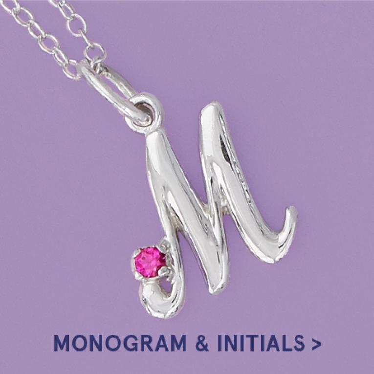 Monogram and Initial Jewellery
