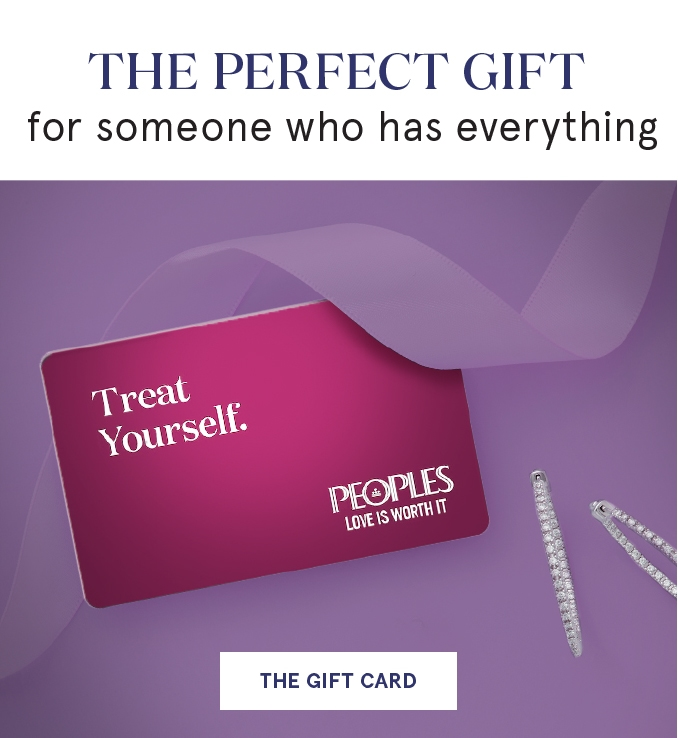 The perfect gift for someone who has everything. Shop Peoples gift cards.