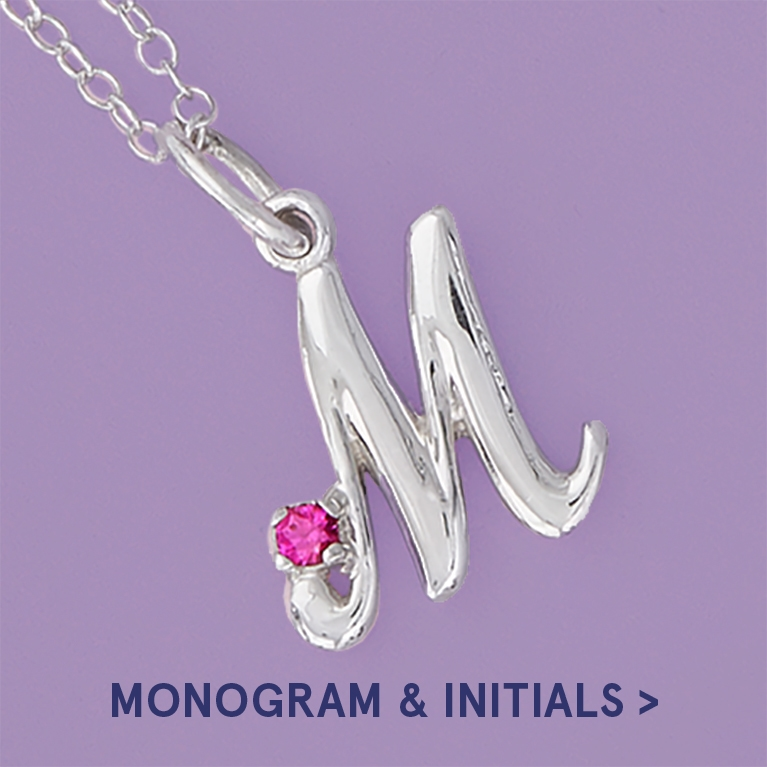 Monogram and Initial Jewellery